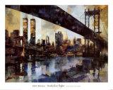 Manhattan Skyline Prints by Marti Bofarull