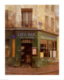 Cafe Bar Print by Chiu Tak-Hak