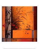 Divisória em Bambu Poster por Don Li-Leger