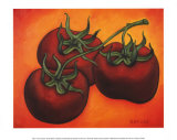 Three Tomatoes Print by Will Rafuse