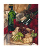 Jennifer's Wine Indulgences I Giclee Print by Jennifer Goldberger