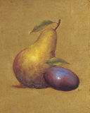 Pear Impression II Prints by Mia Lavalle