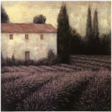Lavender Field Art by James Wiens
