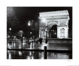 La Tour Arc De Triomphe Prints by Toby Vandenack