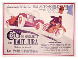 Circuit du Haut, Jura Giclee Print by Joe Bridge