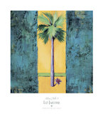 Neon Palm I Prints by Elizabeth Jardine