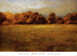 Field with Treeline Prints by Robert Striffolino