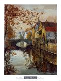 Brugge Reflections Art by Robert Schaar