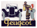 Peugeot Reproduction procédé giclée