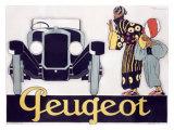 Peugeot Giclee Print