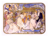 Amants Giclee Print by Alphonse Mucha