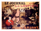 Le Journal, La Loupiote Giclee Print by  Poulbot