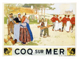 Coq Sur Mer Giclee Print