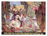 Bananas from Tropical Plantations Giclee Print by Dean Cornwell