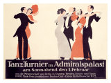 Tanz Turnier Giclee Print by  Klinger