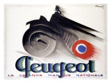 Peugeot Giclee Print by Charles Loupot