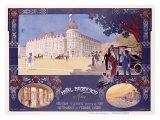 Hotel Negresco Giclee Print by  Lorant-Heilbronn