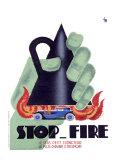 Stop Fire Giclée-Druck von Charles Loupot