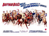 Buffalo Bill's Wild West, Cavaliers Heroiques Giclee Print