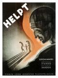 Helpt Giclee Print by Jan Lavies