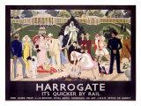 Harrogate Giclee Print by Anna Katrina Zinkeisen