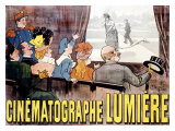 Cin&#233;matographe Lumi&#232;re Reproduction proc&#233;d&#233; gicl&#233;e par Marcellin Auzolle