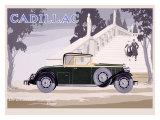 Cadillac Giclee Print