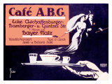 Cafe ABG Giclee Print by Fries 