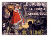 Le Journal Dubut De Laforest Giclee Print by Paul Balluriau