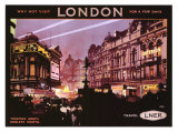 London Giclee Print