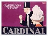 Cardinal Cigaretten Giclee Print by  Lubbert
