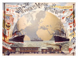 Voyage au Tour du Monde Giclee Print by Emil Jakob Schindler