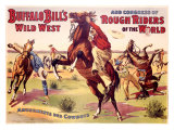 Amusements des Cowboys Giclee Print