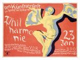 Philharmonie Giclee Print by  Riemer