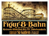 Figur 8 Bahn Giclee Print