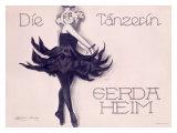 Die Tanzerin Giclee Print by  Crunkeim-Marrass