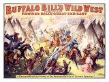 Buffalo Bill's Wild West, Wild West Giclée-Druck