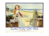 Clacton on Sea, Butlin's Holiday Giclee Print by W. Smithson Brodhead