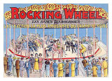 Rocking Wheel Giclee Print