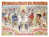 Primrose and West's Big Minstrels Giclee Print