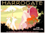 Harrogate Giclee Print by Tom Purvis