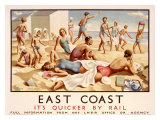 East Coast Giclee Print by Brien