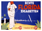 Echte Florida Zigaretten Giclee Print by Langenberg 