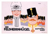 Der Feldherrnugel Giclee Print by Klinger 