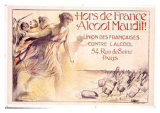 Alcool Maudit Giclee Print by Chavannaz 