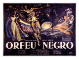 Orfeu Negro Giclee Print by Georges Allard