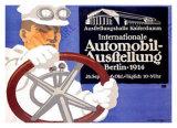 Automobil Ausstellung Giclee Print by Lucian Bernhard