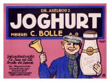 Joghurt Giclee Print by J. Loe