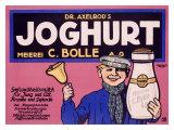 Joghurt Giclee Print by J. Loe