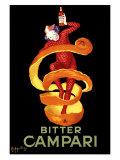 Campari Bitter, 1921 Reproduction procédé giclée par Leonetto Cappiello